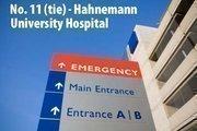 Philadelphia. 9 high-performing specialties: cancer; cardiology & heart surgery; gastroenterology; geriatrics; gynecology; nephrology; neurology & neurosurgery; pulmonology; urology. Last year's rank: No. 4 (tie).