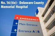 Drexel Hill, Pa. 3 high-performing specialties: geriatrics; orthopedics; urology. Last year's rank: No. 14 (tie).