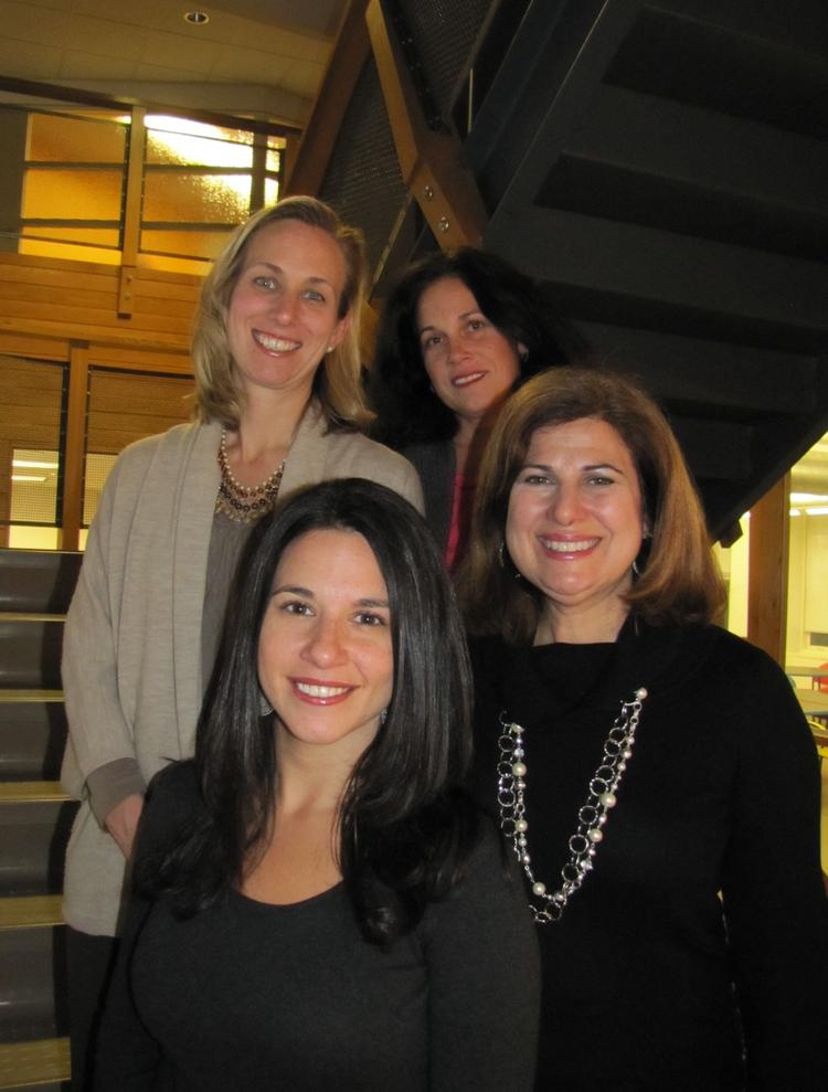 (Clockwise from top left:) Dana Lynch, vice president; Maryellen Royle, president; Thresa Grady, vice president, media relations; Stephanie DeViteri, vice president, account director.
