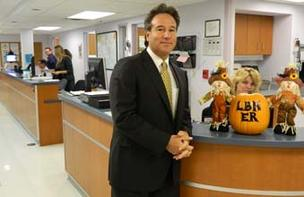Peter J. Adamo, new CEO of Lower Bucks Hospital in Bristol.