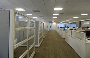Sleek lines define the new look of the space at 1735 Market St. where Braskem decided to locate its North American headquarters. It subleased the space from Sunoco.