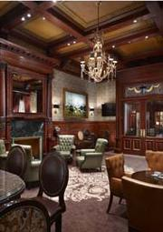 The Cigar Lounge at the Union League.