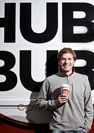 Hub Bub Truck founder Drew Crockett found some solid ground at 1717 Arch St. for his Hub Bub Coffee Bar.