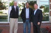 Bill Connor (from left), Saj Cherian and Jeff Mack.