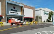 Mercy Health Center in the Plymouth Meeting Mall, near a Boscov's.