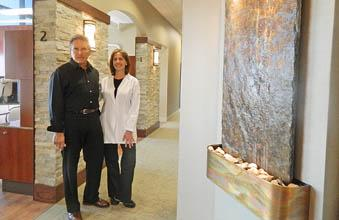 The husband-and-wife team behind Matarazzo & Milici Group, Drs. Francis Matarazzo and Anita Milici.