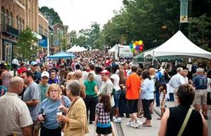 Last summer's Mount Airy Night Market festival drew a crowd.