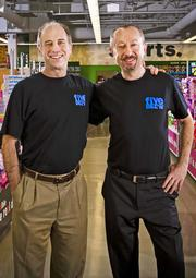 Five Below founders David Schlessinger and Tom Vellios.