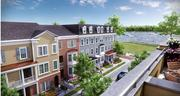 An artist's rendering of a portion of the Waterside project in Bensalem, Pa., by Looney Ricks Kiss Architects of Princeton, N.J.