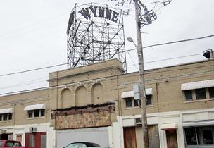 The Wynne Ballroom in West Philadelphia ran second-run movies.