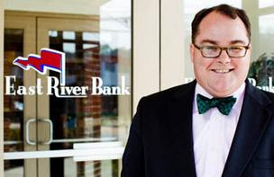 Christopher McGill, CEO of East River Bank.