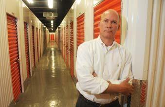 Christopher P. Marr of CubeSmart at its Norristown self-storage units.