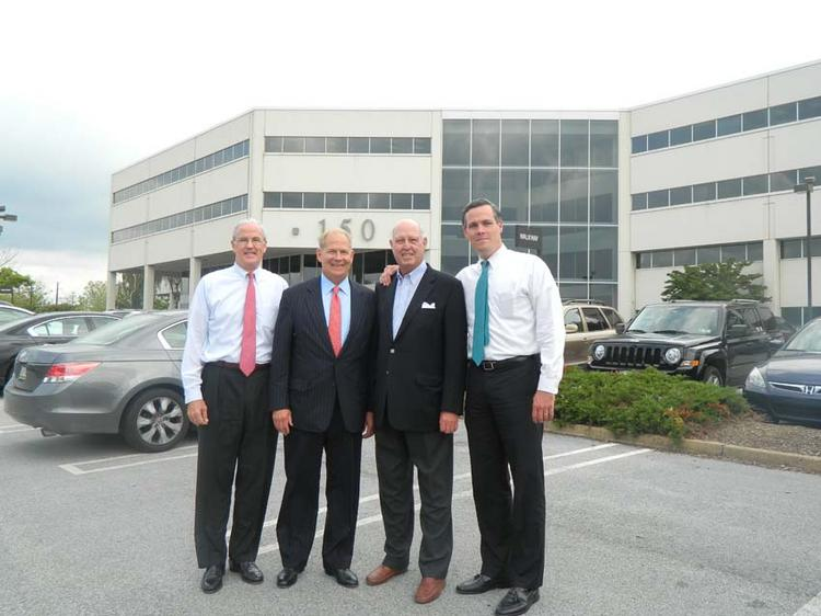 Radcliffe Hastings, H. Scott Miller, Tony Hayden Sr. and Tony Hayden Jr.