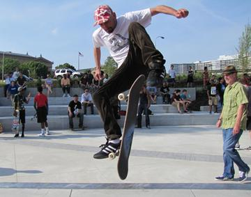 Philly finally embraces skateboarders: Slideshow