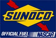 The Sunoco sign is a familiar one to NASCAR fans who visit Texas Motor Speedway.