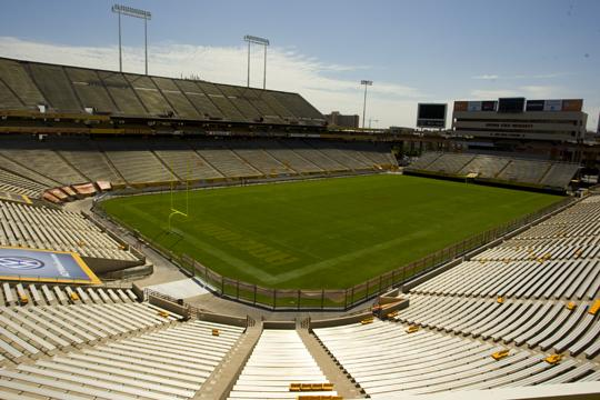 The Insight Bowl will take place at Sun Devil Stadium Dec. 30.