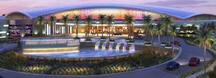 A rendering of the proposed casino from the Tohono O'odham Nation.