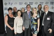 Brian Bogert, partner at Lockton Cos., had plenty of fans at the 40 Under 40 event where he was honored.