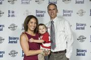Alana Chavez-Landgon, vice president of government relationships and public and regulatory affairs for Ecotality Inc., brought her son and husband to the annual event that recognized her as part of the 40 Under 40.