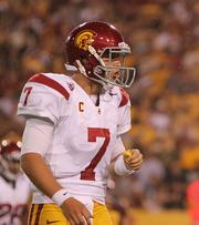 The University of Southern California was on NCAA probation back in 2010 and ranked 26th in revenue with $31 million.The Trojans are the preseason No. 1 this year and golden-boy quarterback Matt Barkley is a favorite for the Heisman trophy.