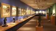 The Basha art gallery has been expanded since opening in 1992.