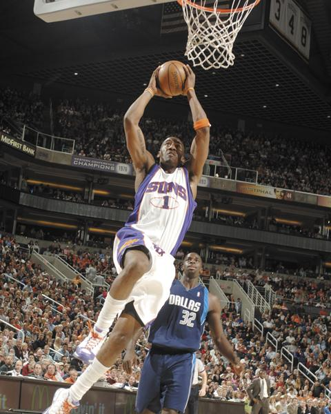 Amar'e Stoudemire when he still played for the Phoenix Suns.