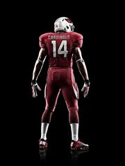 The back of the new Arizona Cardinals uniform from Nike.