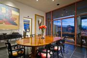 The formal dining room in the home owned by former Suns player Jason Kidd.