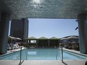 The pool at the Hotel Palomar will be a drawing spot. The hotel opened on Tuesday and held a ribbon cutting ceremony on Thursday in Phoenix.