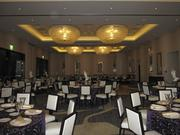 The Hotel Palomar has its ballroom ready after its Phoenix opening on Tuesday.