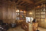 The office in Jason Kidd's Paradise Valley home.