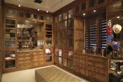 Jason Kidd's home in Paradise Valley, now up for sale for $6 million, comes complete with the above closet.