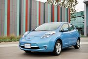 The 2011 Nissan Leaf.
