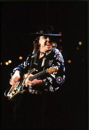 Stevie Ray Vaughan was known for his Fender Stratocaster he called No. 1.