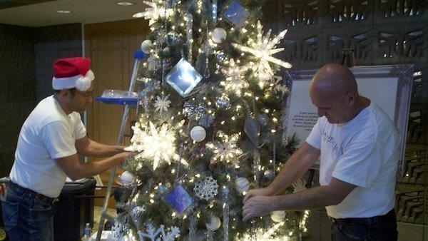 Design Firms Show Off Christmas Trees At Arizona Biltmore Phoenix