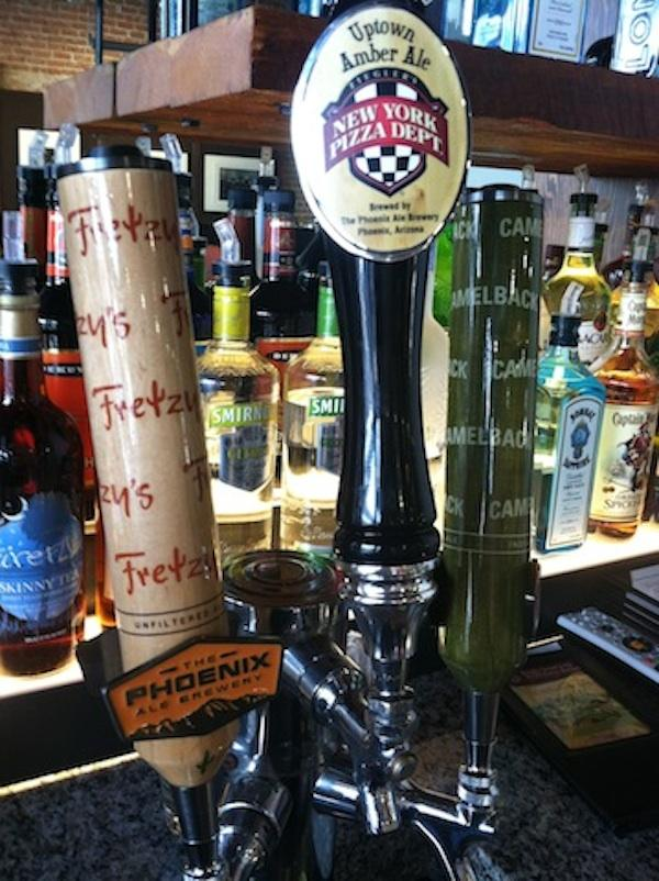 NYPD Pizza is rolling out its own brand of beer, created by the Phoenix Ale Brewery.