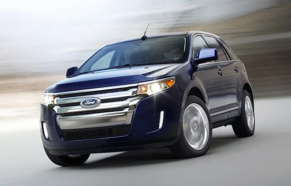 The 2012 Ford Edge.