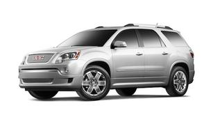 The 2012 GMC Acadia Denali.