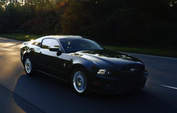 The 2013 Ford Mustang GT.