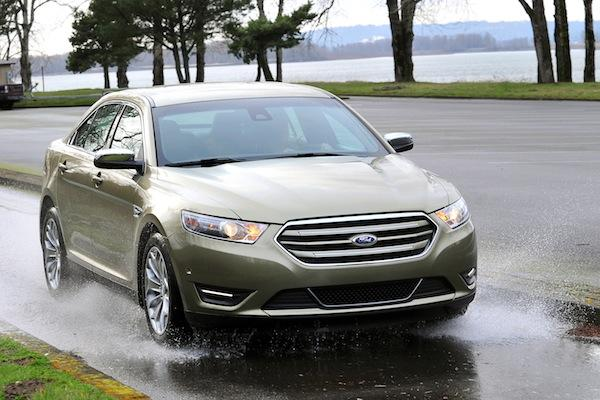 The 2013 Ford Taurus.