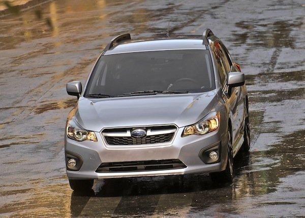The 2012 Subaru Impreza hatchback.