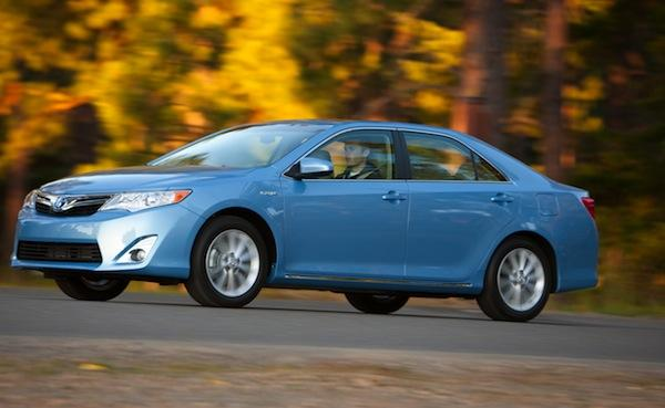 The 2012 Toyota Camry hybrid.