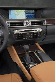 The interior of the 2013 Lexus GS 350.