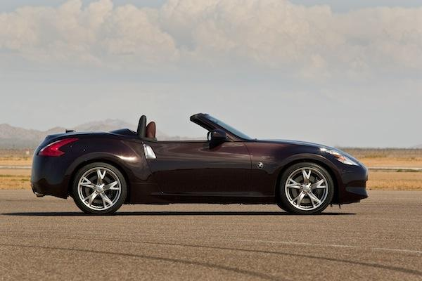 The Nissan 370Z Roadster.