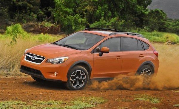 The Subaru XV Crosstrek.