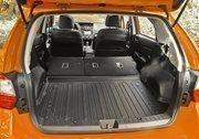 The interior of the Subaru XV Crosstrek.
