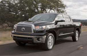 The Toyota Tundra CrewMax Platinum package