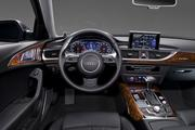 The interior of the 2012 Audi A6.