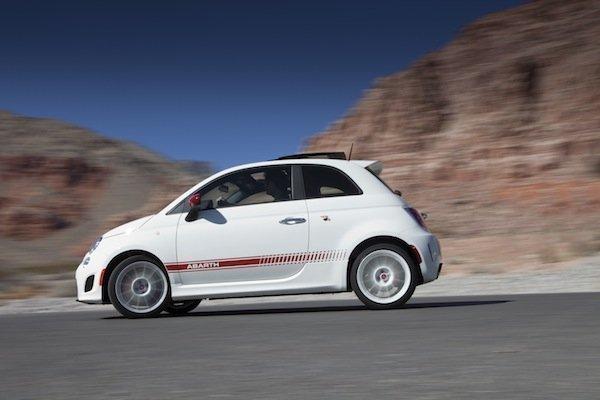 The Fiat 500 Abarth.