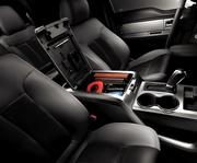 The interior of the 2012 Ford F-150 SuperCrew.